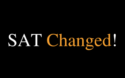 Changes in SAT!